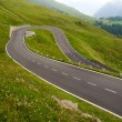 Stock Photo: High alpine road