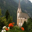Royalty-Free Stock Photo: Catholic church in  Austrian Alps