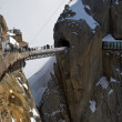 Mountain peak Aiguille Du Midi - Stock Photo