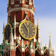 Spaskaya tower or Moscow Kremlin — Stock Photo #1061340