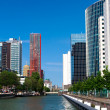 Residential houses. Central Rotterdam - Stock Photo