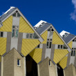 Cubic houses in Rotterdam, Holland - Stock Photo