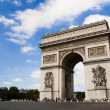 Arch of Triumph. Day time. Paric, France — Stock Photo #1062435