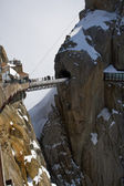 Mountain peak Aiguille Du Midi — Stock Photo