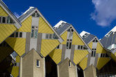 Maisons cubiques à rotterdam, Hollande — Photo