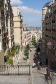 Streets of Paris - Montmartre, France — Stock Photo