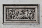 Relief at Arc de Triomphe. Paris, France — Stockfoto