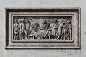 Relief at Arc de Triomphe. Paris, France — Stock Photo