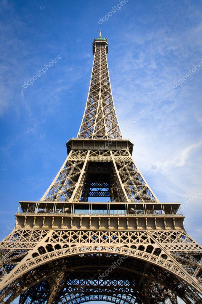 埃菲尔铁塔.巴黎法国 - 图库图片