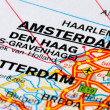 Road map of The Netherlands - Stock Photo