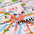 Road map around Prague — Stock Photo #1105613