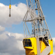 Crane in a port - Stock Photo