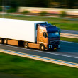 Freight truck on motorway — Stock Photo #1106195