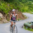 Uphill on a bicycle — Stock Photo #1107397