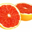 Royalty-Free Stock Photo: Grapefruit. Isolated on a white backgrou