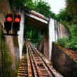 Funicular railway. Karlovy Vary — Stock Photo