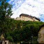 古老的城堡和镇 — 图库照片