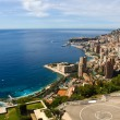 Monaco. View from the top — Stock Photo
