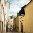 Old streets. Luxembourg - Stock Photo