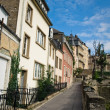 Old town of Luxembourg - Stock Photo