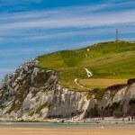 Cliffs on the North sea — Stock Photo