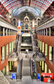 Antwerpen Central Station — Stock Photo