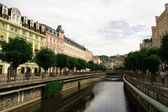 Karlovy Vary. Water canal — Stock Photo