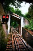 Funicular railway. Karlovy Vary — Stock Photo