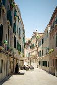 Street Cafe. Venice — Stock Photo