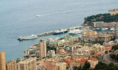 La Condamine, Monaco - port of Monaco — Stock Photo