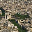Royalty-Free Stock Photo: Paris. Aerial view