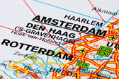 Road map of The Netherlands — Stock Photo