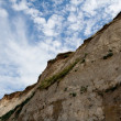 White cliffs on sea shore — Stock Photo