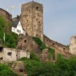 山上的老城堡 — 图库照片