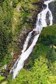 Stuibenfall - a cachoeira mais lagest em ti — Fotografia Stock