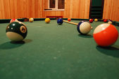 Billiards — Stock Photo