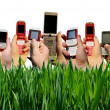 Mobile phones — Foto Stock