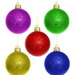 Royalty-Free Stock Photo: Balls of christmas