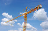 Building crane — Stock Photo