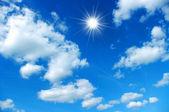 Sky and sun — Stock Photo