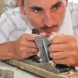 Stock Photo: Workman