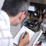 IT Engineer Working — Stock Photo