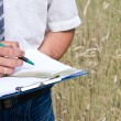 Agronomist — Stock Photo