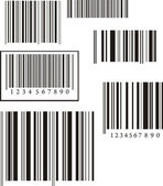 Barcode Collection — Stock Photo