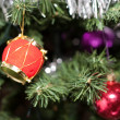 Decorated Christmas tree closeup — Stock Photo #1495670