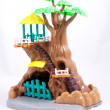Stock Photo: Toy house-tree