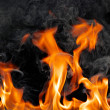Stock Photo: Fire flames
