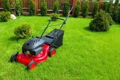 Lawn mower — Stock Photo