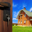 Stock Photo: Dwelling-house