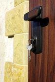 Lås och nyckel — Stockfoto